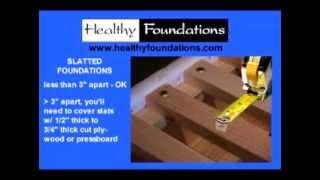 Mattress Foundations - What's Best?