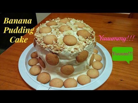 How To Make a Banana Pudding Cake ~ Surprise Flavoring Ingredients!