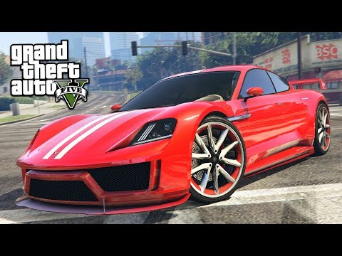 NEW FASTEST CAR IN GTA 5?! (GTA 5 Neon Sports Car Spending Spree DLC Update)