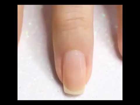 Cute pink/maroon flower nail tutorial 🌸