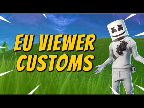 (EU) 🔴CUSTOM MATCHMAKING 🔴SOLOS/DUOS/TRIOS/SQUADS/SCRIMS FORTNITE LIVE PS4/XBOX/PC/MOBILE/SWITCH