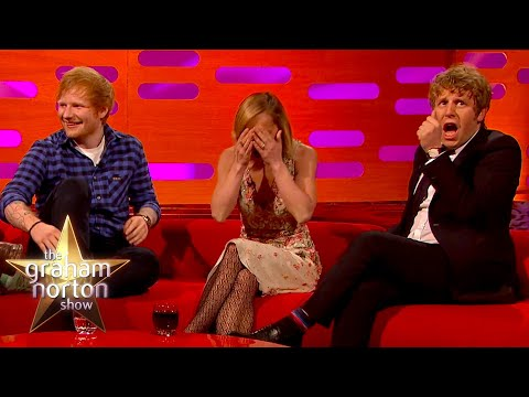 Ed Sheeran spadl do gejzíru - The Graham Norton Show
