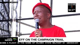 EFF Leader, Julius Malema Campaigns In Alexandra