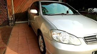 Toyota Altis G AT 2002 -mobil Antik-