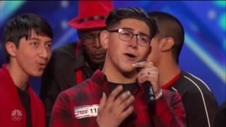 "America's Got Talent   Musicality Choir_ ""Night Changes""  HD"