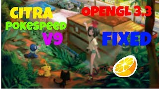 how to fix opengl 3 3 error on citra nintendo 3ds emulator