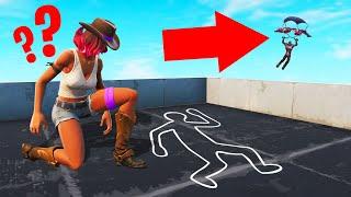 FIND The MURDERER Before He KILLS YOU! (Fortnite Murder Mystery)