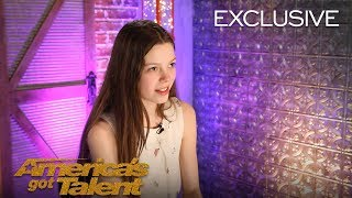 Courtney Hadwin Thanks Howie Mandel For Sending Her To Live Shows - America