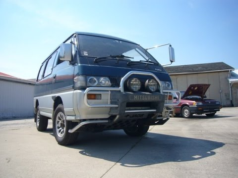 1993 Mitsubishi Delica L300 Super Exceed Starwagon imported by Bonsai Rides