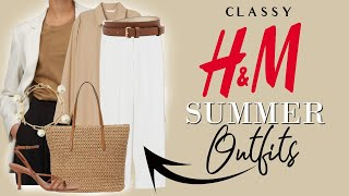 CLASSY H&M Haul SUMMER 2020  (Part 2) Classy Fashion Over 40