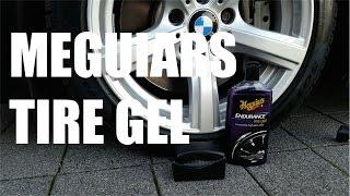 Autoreifen Pflege mit Meguiar`s Tire Gel - Endurance High Gloss Set