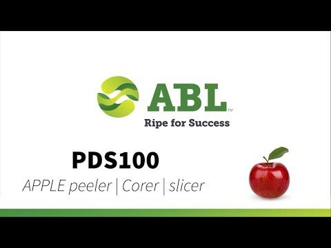 Pelatrici, detorsolatrici, spicchiatrici e taglierine per mele PDS100