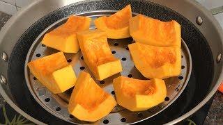 南瓜最好吃的做法,不煮粥不做餅,酥香軟糯,一口一個,比肉都香