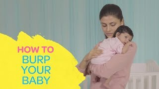 How To Burp A Baby Correctly? - The Right Ways To Burp A  Baby