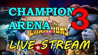 The Champion Arena - Round 2 - part 3 | Marvel Contest of Champions Live Stream