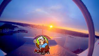 Sunrise FPV T-28 Flight
