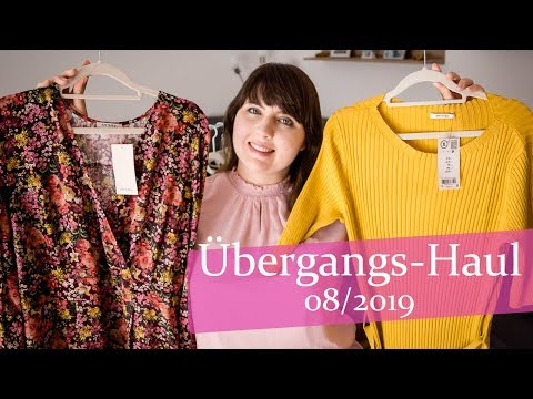 Übergang Sommer / Herbst Fashion Haul 2019 Plussize Curvy Gr.44 XL orsay