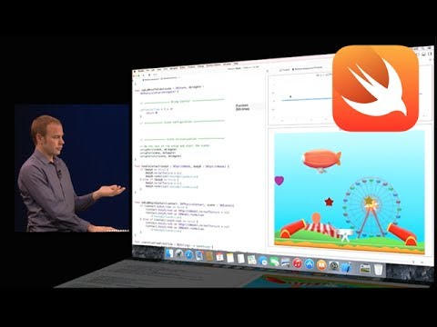 Swift programming language – Apple Keynote
