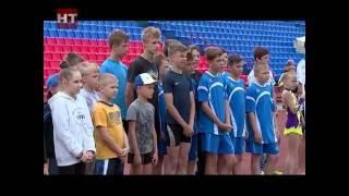 На стадионе «Волна» прошли соревнования Олимпийского дня