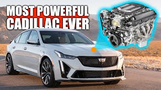 Cadillac's Most Powerful Engine Ever - CT5-V Blackwing V8