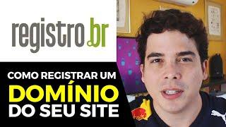 Como Registrar um Domínio de Site Marketing Digital Registro.br .com.br