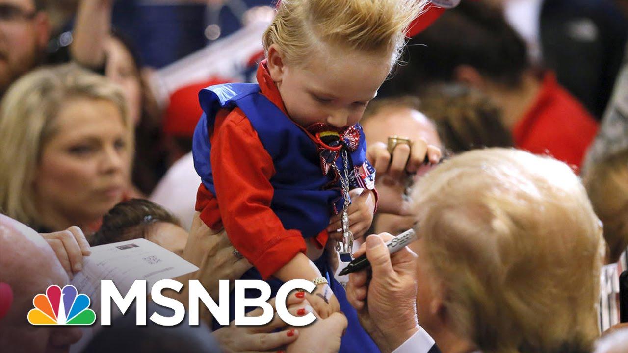 Donald Trump Signs A Baby | Morning Joe | MSNBC thumbnail