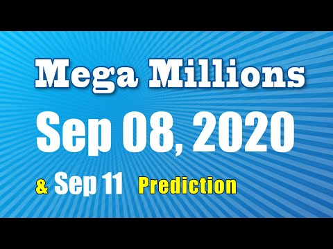 Winning numbers prediction for 2020-09-11|U.S. Mega Millions