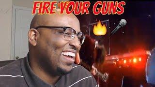 AC/DC Fire Your Guns Reaction