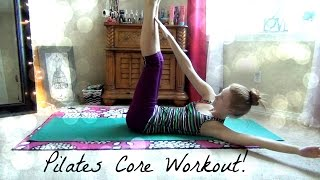 10 Minute Pilates Core Workout for Beginners! by lalastar0002