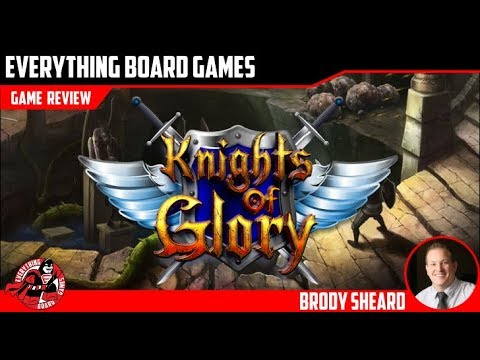 Everything Board Games Knights of Glory Preview