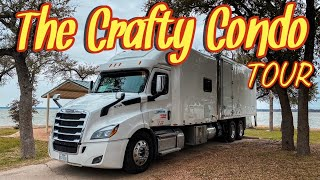 2019 FREIGHTLINER CASCADIA WITH A 120 INCH CUSTOM AA SLEEPER
