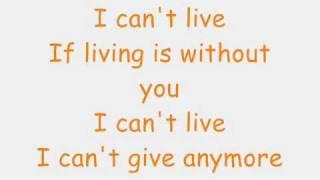 Without You Lyrics  Mariah Carey