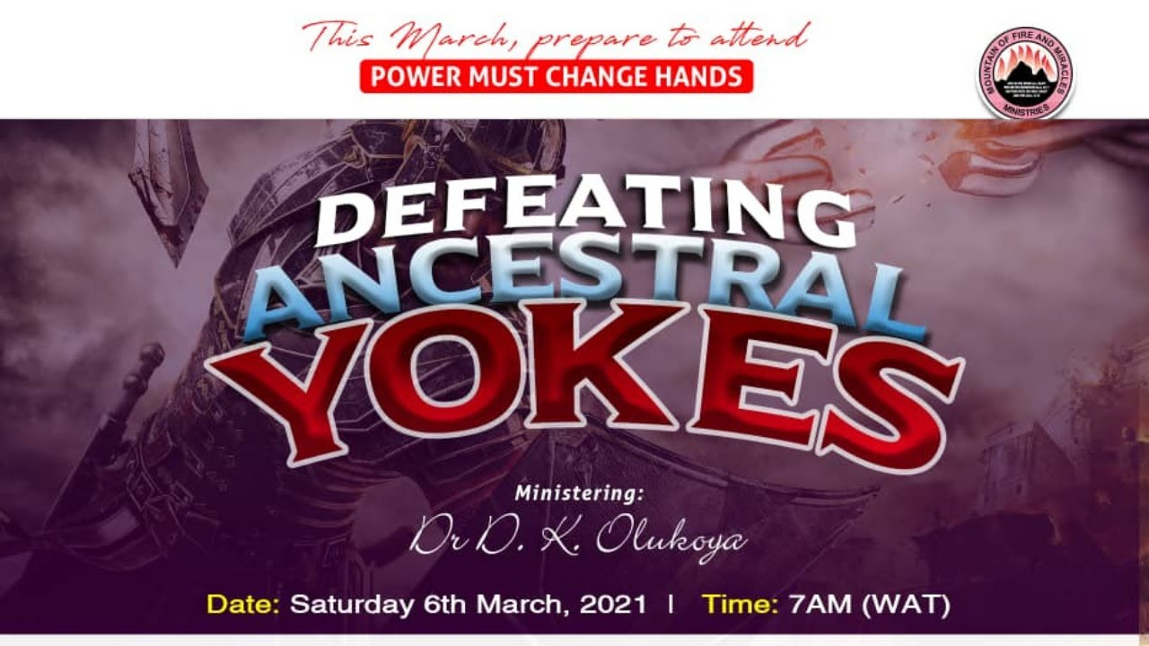 MFM PMCH Power Must Change Hands 6th March 2021 Dr. D.K. Olukoya
