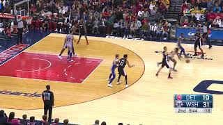 2nd Quarter, One Box Video: Washington Wizards vs. Detroit Pistons