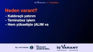 Neden Varant?
