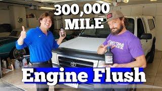 300,000 Mile AMSOIL Engine Flush Before & After
