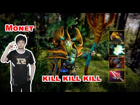 Monet Nature's Prophet Carry - DOTA 2 7.27D - ASTER - Dota2 Gameplay [Learn To PRO]