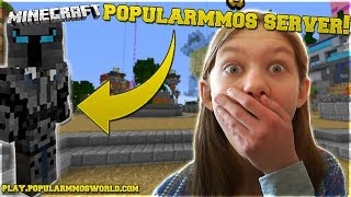 PLAYING ON POPULARMMOS NEW SERVER! | Girlcatlove1524