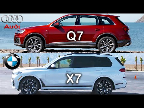 Audi  Q7 Кроссовер класса J - тест-драйв 4