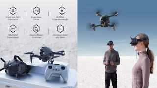 First-Person View Drone UAV Quadcopter with 4K Camera, S Flight Mode