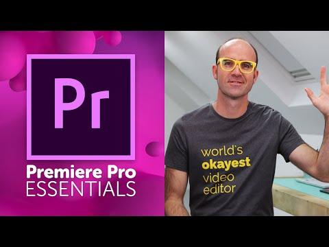 Adobe Premiere Pro Essentials Course - YouTube