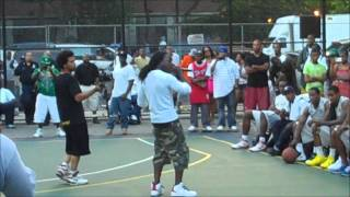 """Ace Hood """"Go N Get It"""" LIVE @ Rucker Park in Harlem, NYC"""