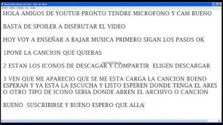 DESCAGAR MUSICA EN MP3XD