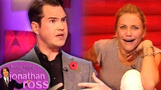 Cameron Diaz's Cleavage Settled Jimmy Carr's Nerves | Friday Night With Jonathan Ross
