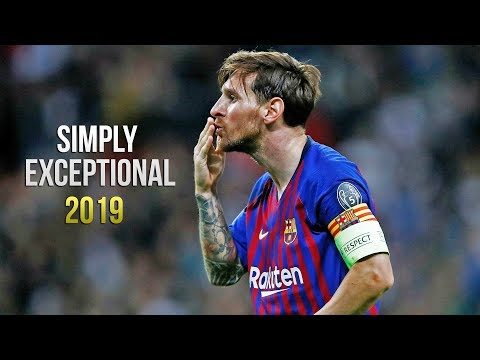 Lionel Messi - Simply Exceptional 2019 (HD)