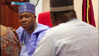 Saraki meets JOHESU leaders over ongoing strike - VIDEO