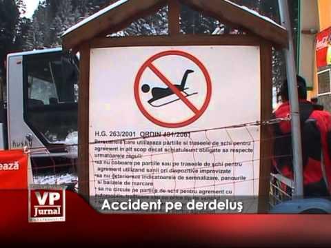 Accident pe derdeluş