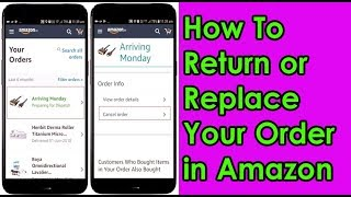 How to Return or Replace your Order in Amazon!!