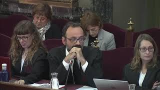 Bronca Del Juez Marchena Al Abogado De Jordi Cuixart, Benet Salellas
