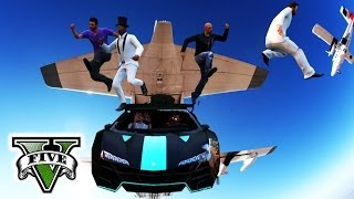 GTA 5 Online EXTREME STUNTS & FAILS | GTA Extreme Sports
